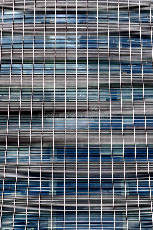 Abstract image of office windows stock image