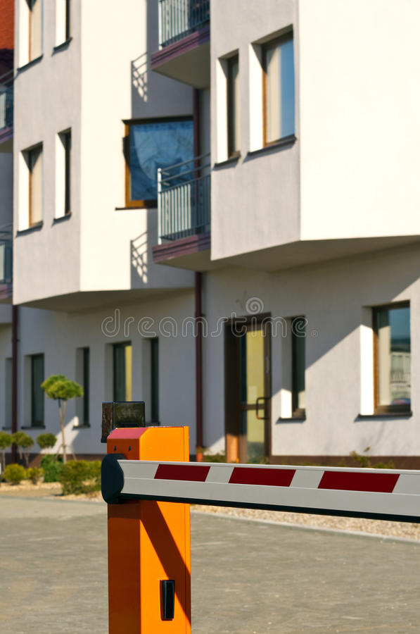 Residential Area Protection Stock Photos