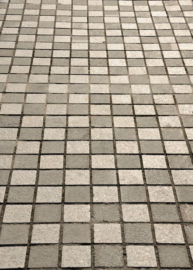 Abstract Image of a Sidewalk stock image
