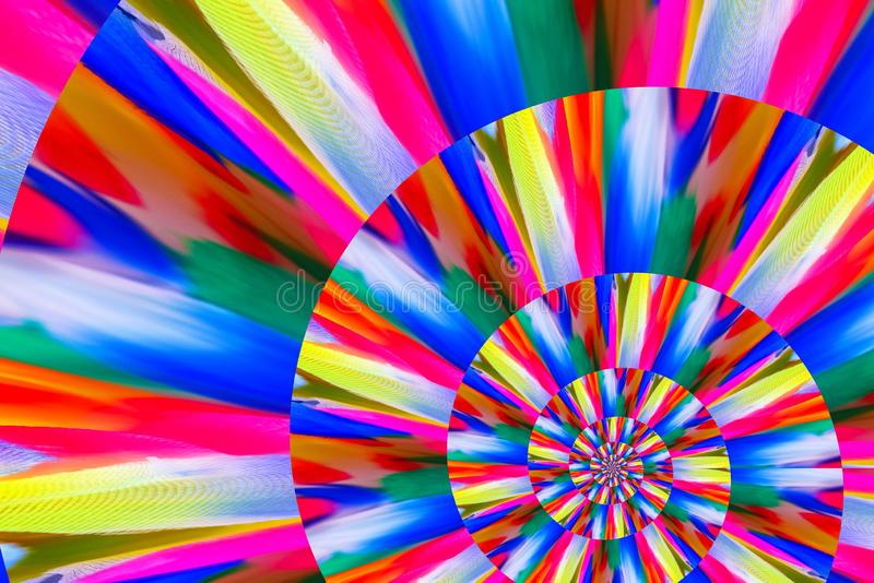 Abstract image of spiral form of monocentric type. Abstract image of big color spiral form of monocentric type royalty free stock photo