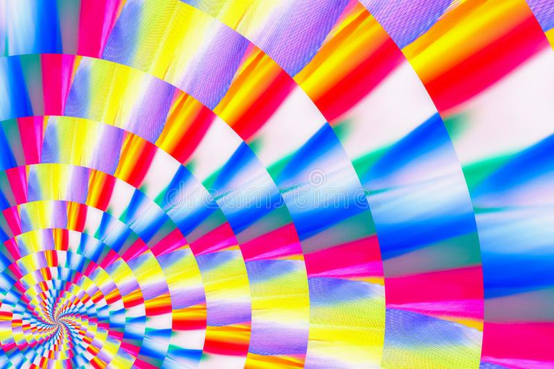 Abstract image of spiral form of monocentric type. Abstract image of big color spiral form of monocentric type stock images