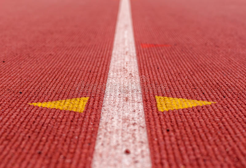Abstract image of track and field track royalty free stock photo