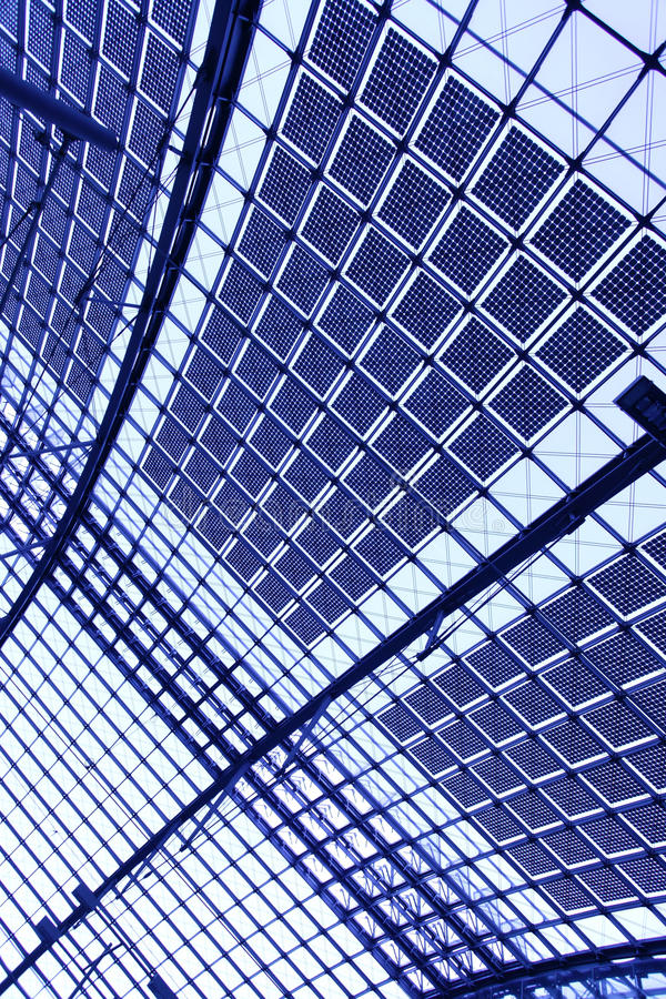 Abstract industrial background stock image