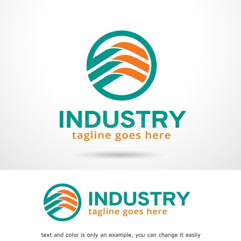 Abstract Industry Logo Template Design Vector vector illustration