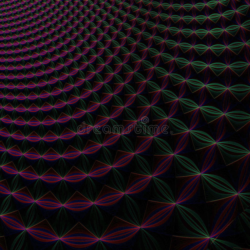 Abstract infinite background