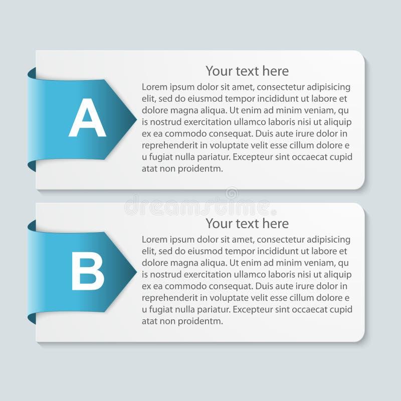 Abstract infographic document. vector illustratie