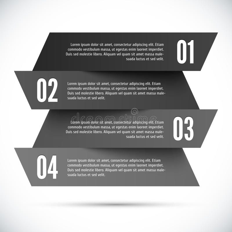 Abstract infographic template vector illustration