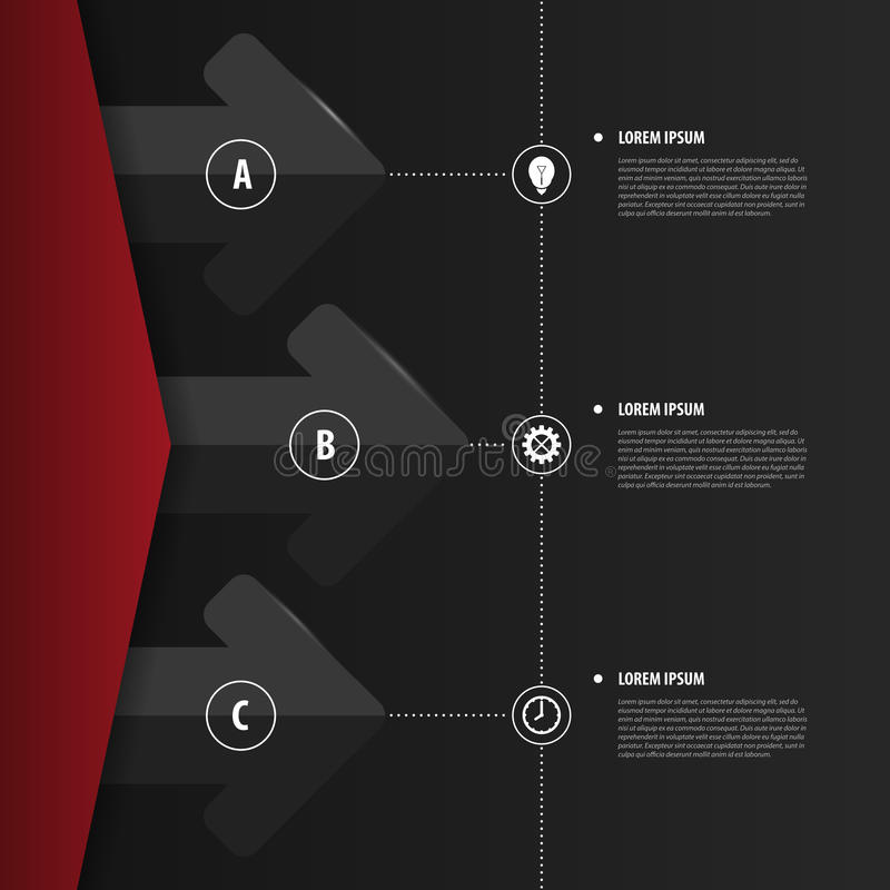 Abstract infographics. Modern design template. Vector royalty free illustration