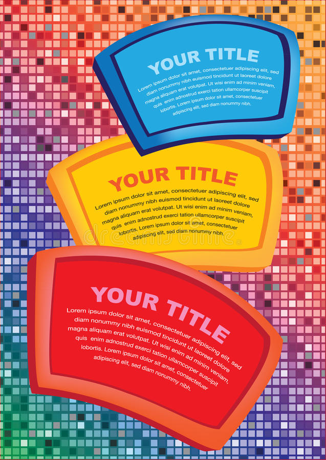 Abstract infographics options template. Workflow layout vector illustration