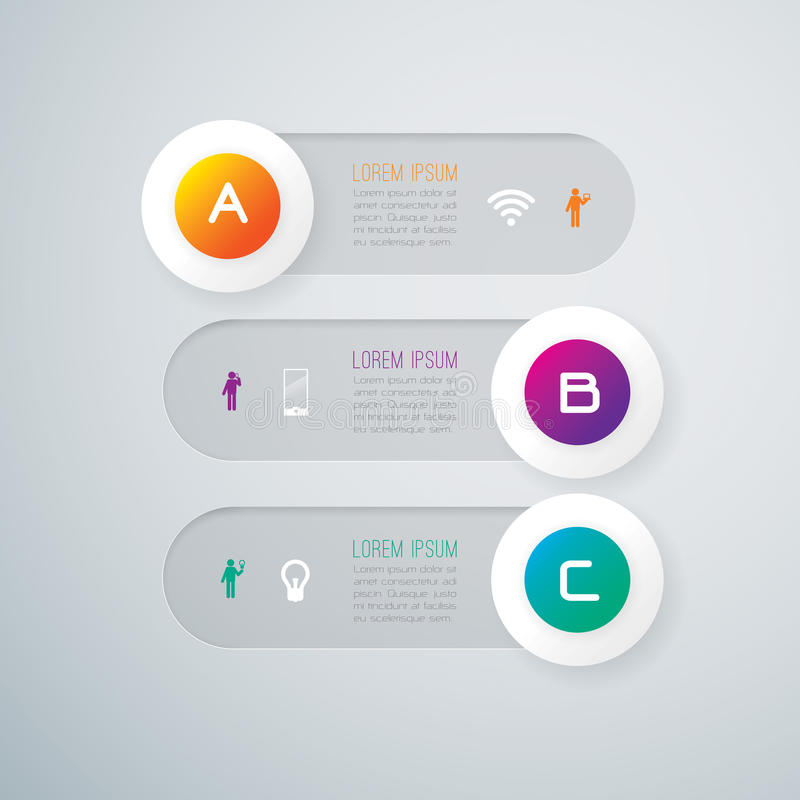 Download Abstract Infographics Template Design. Stock Images - Image: 37185884