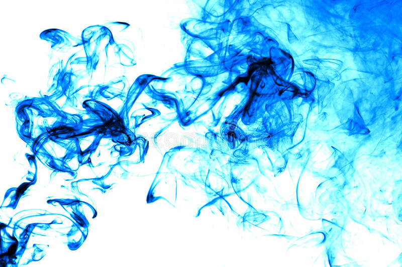 Download Abstract Ink In Water Isolated Stock Photo - Image: 29431222