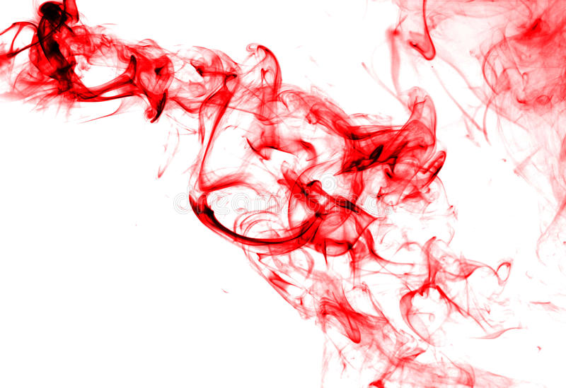 Abstract Ink In Water Isolated Royalty Free Stock Photos