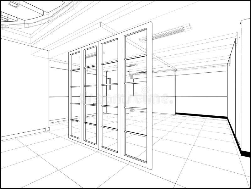 Download Abstract Interior Construction Vector 221 Stock Vector - Illustration: 23420838