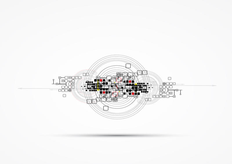 Download Abstract Internet Computer Technology Business Solution Stock Illustration - Image: 31883457