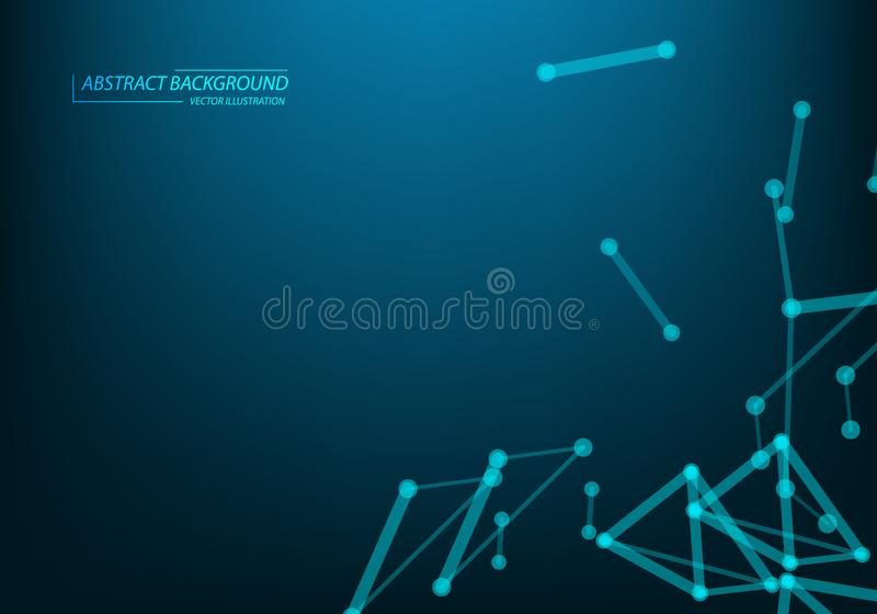 Abstract internet connection network technology graphic design. concept background vector illustration