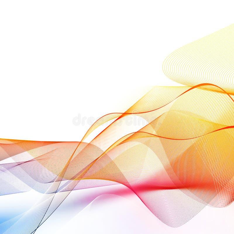 Download Abstract iridescent wawe stock illustration. Illustration of rainbow - 7699467