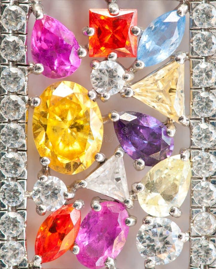 Abstract of jewelry. Macro shot royalty free stock photo