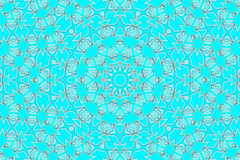 abstract kaleidoscope στοκ φωτογραφία