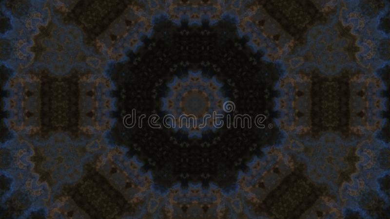 Abstract kaleidoscope style background. Creative ornament. Stock illustration. Abstract kaleidoscope style background. Creative ornament. Stock raster royalty free stock photography
