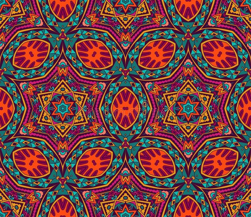 Abstract kleurrijk grafisch mozaïek vectorpatroon vector illustratie
