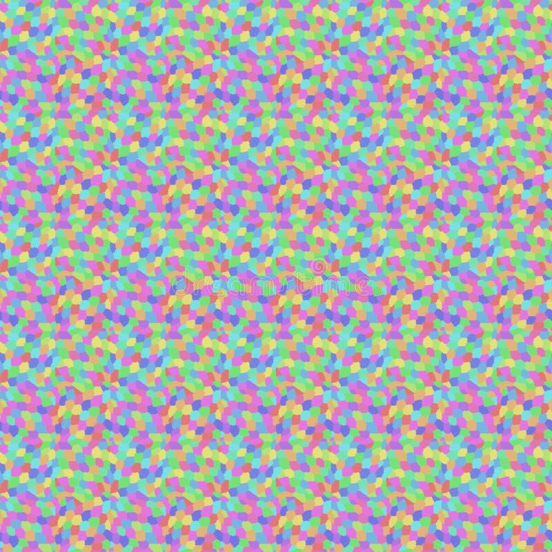 Abstract kleurrijk naadloos patroon vector illustratie
