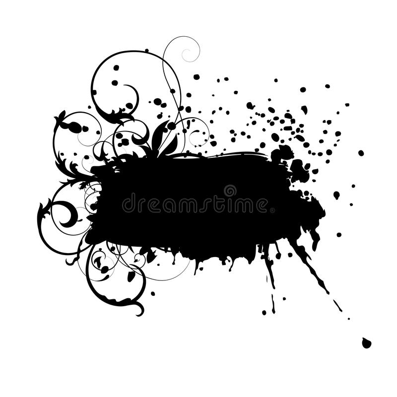 Download Abstract Labels In Grunge Style Stock Illustration - Illustration of design, messy: 11075678