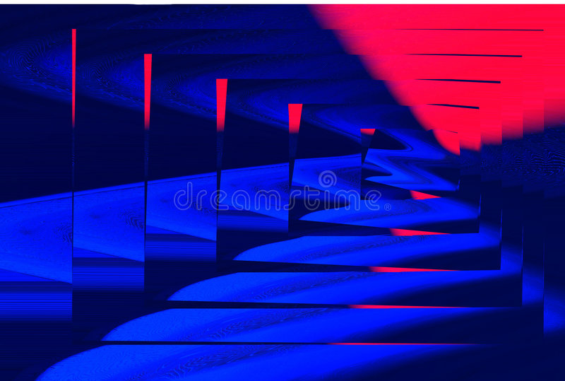 Abstract Labyrinth royalty free stock photography