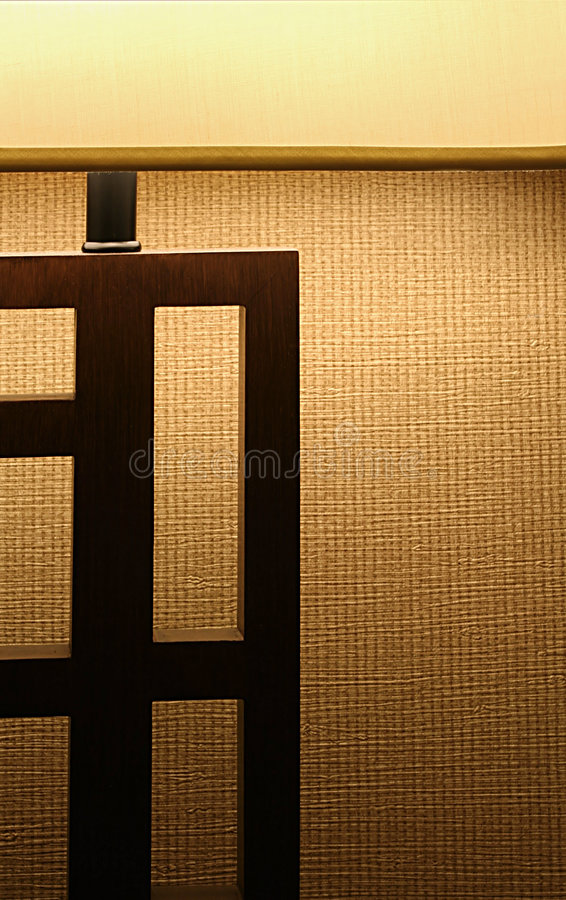 Abstract Of Lamp With Shade Royalty Free Stock Image
