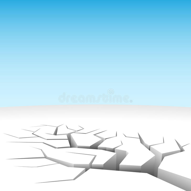 Download Abstract land cleft stock vector. Image of concept, disaster - 11115740