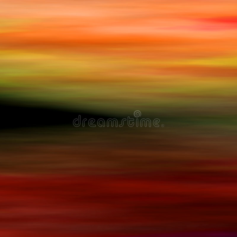 Abstract landscape 3 royalty free illustration