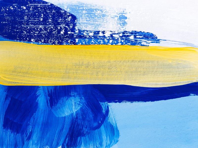 Abstract Landscape Art Painting Background. Modern art. vector illustration