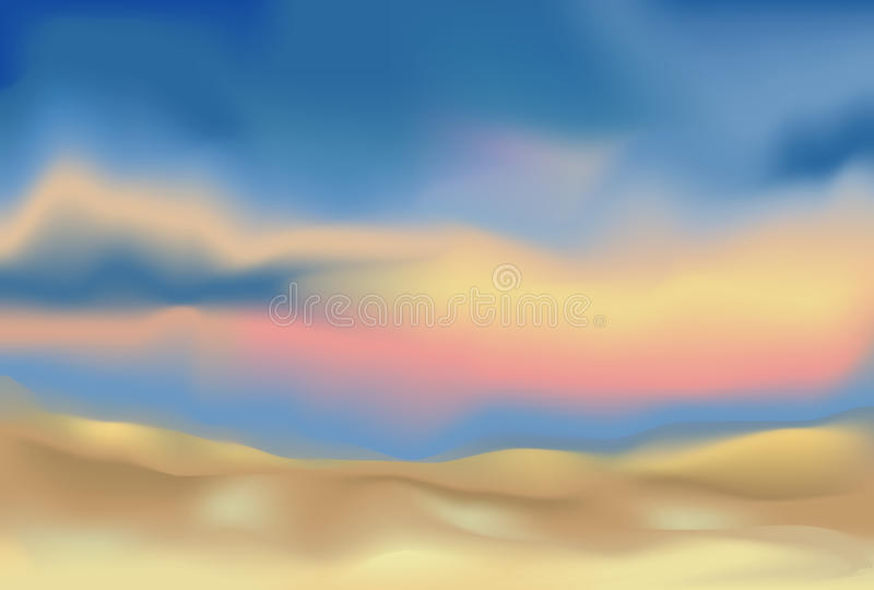 Download Abstract Landscape Background Stock Vector - Illustration: 27035919