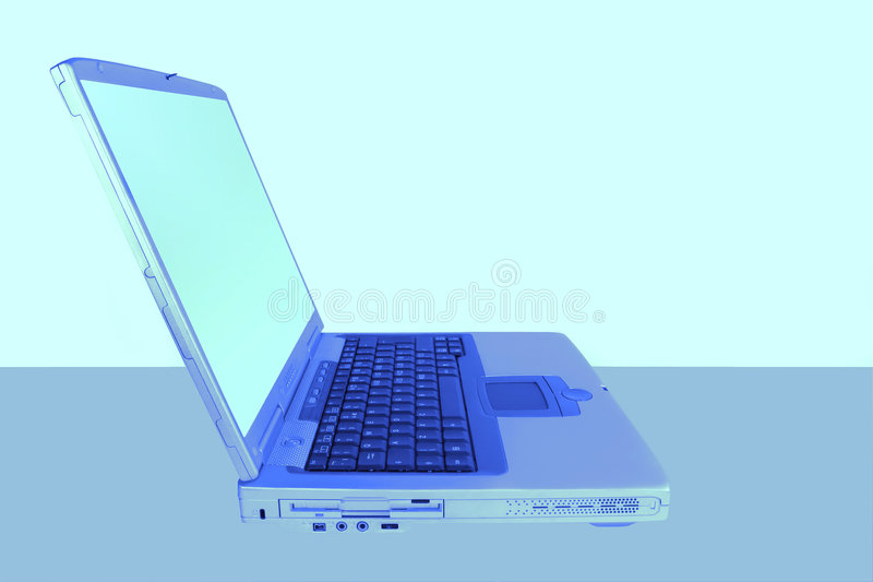 Abstract Laptop royalty free stock photos