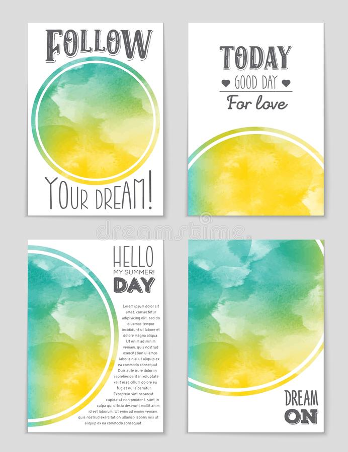 Abstract layout background set. For art template design, list, page, mockup brochure theme style, banner, idea, cover, book. Abstract layout background set. For royalty free illustration