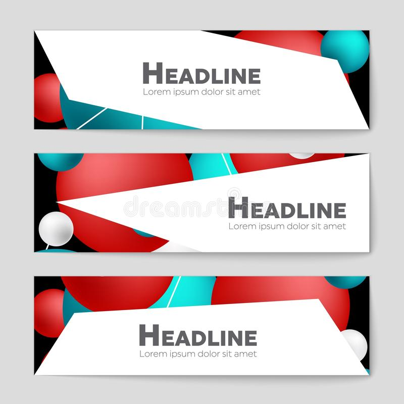 Abstract Layout Background For Web And Mobile App, Art Template ...