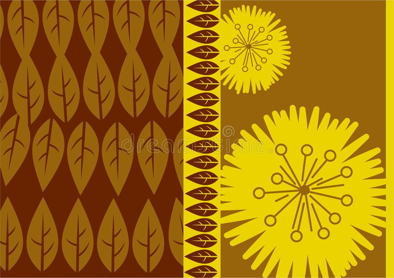 Abstract leaf royalty free illustration