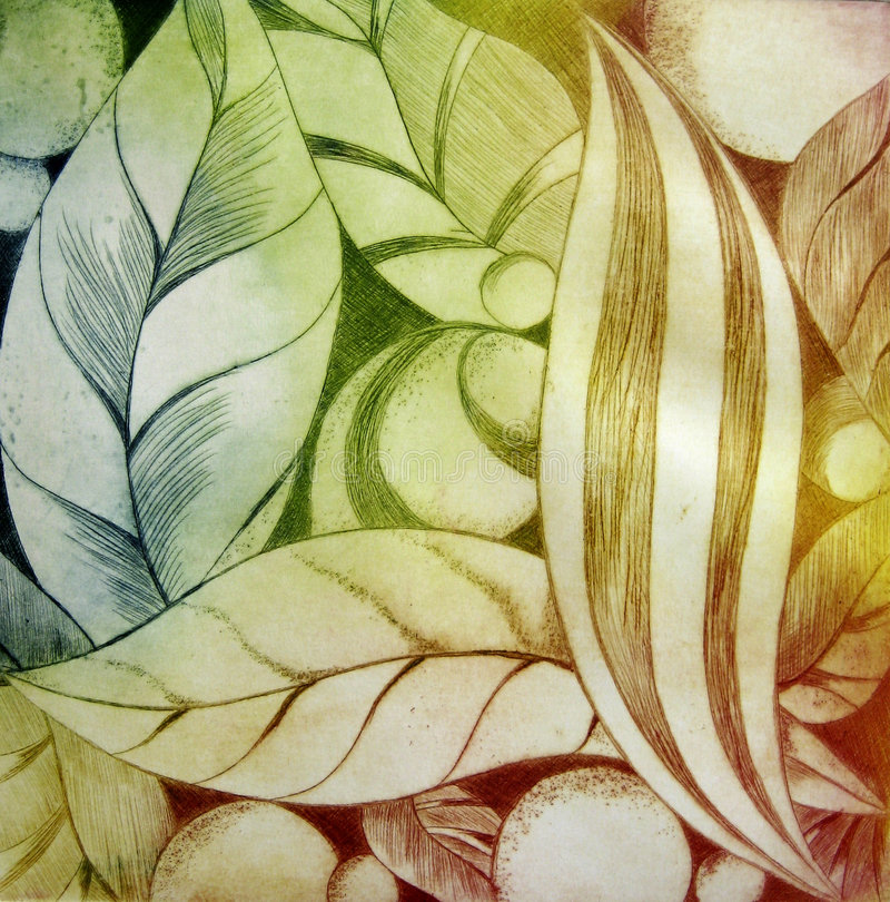 Download Abstract Leafs stock illustration. Image of artist, illustration - 5342206