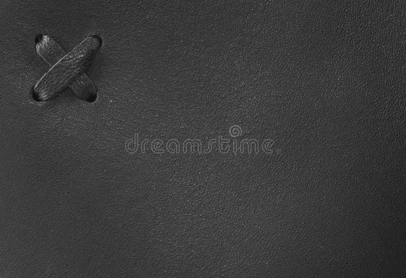Abstract leather background with cross stock photography
