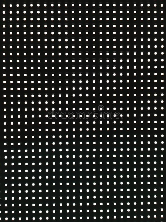 Abstract LED screen, Electronic White LED. Abstract LED screen, Electronic White LED for Backdrop,Background and Advertising royalty free illustration