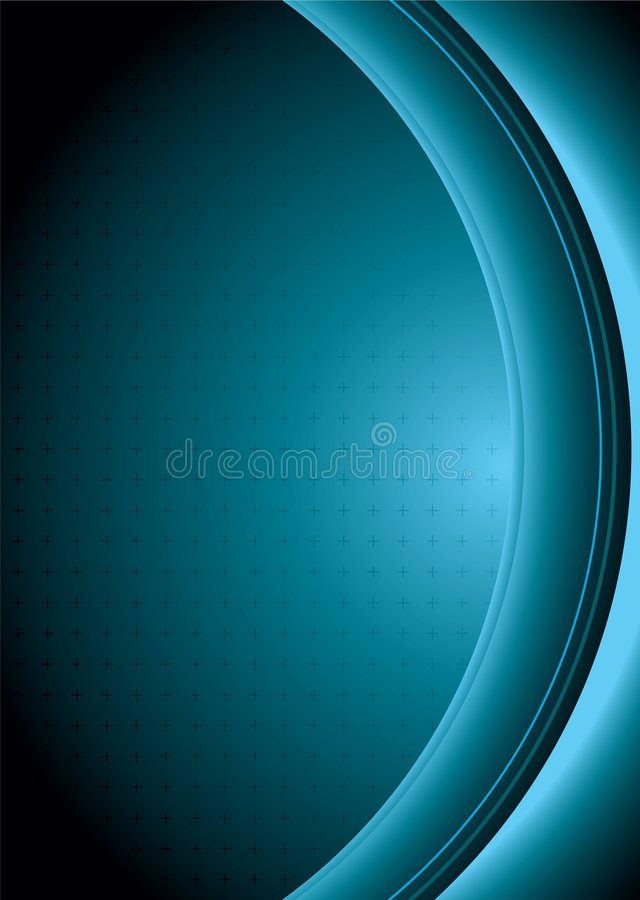 Abstract lens vector illustration
