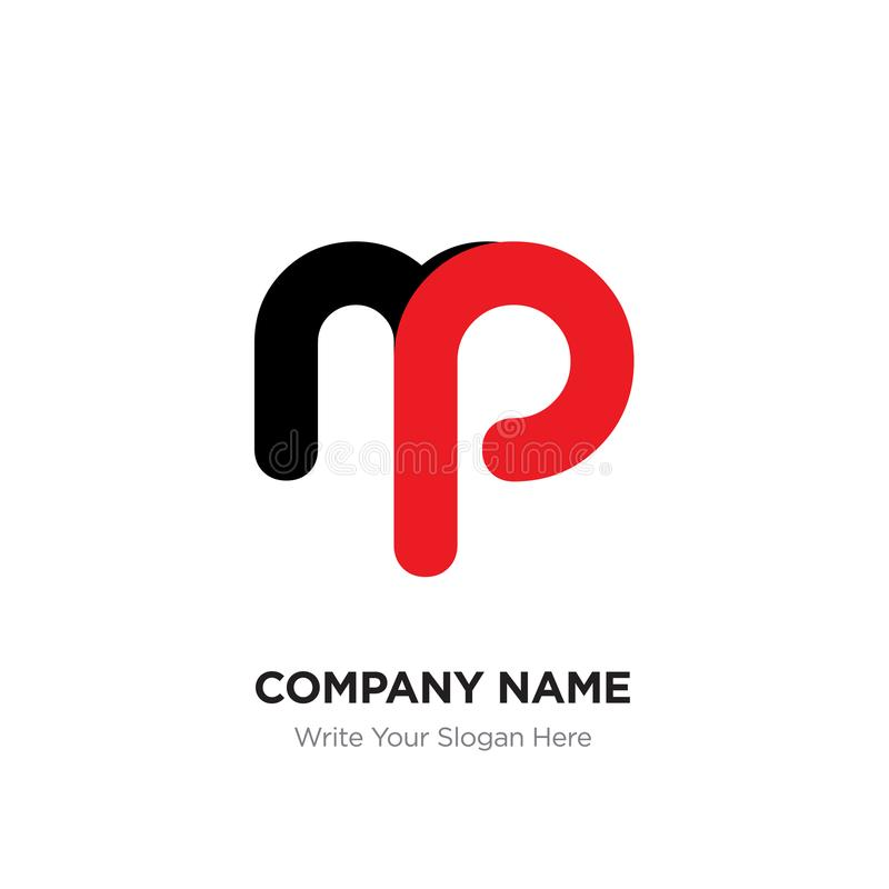 Abstract letter mp or pm logo design template black alphabet in download abstract letter mp or pm logo design template black alphabet in stock illustration spiritdancerdesigns Images