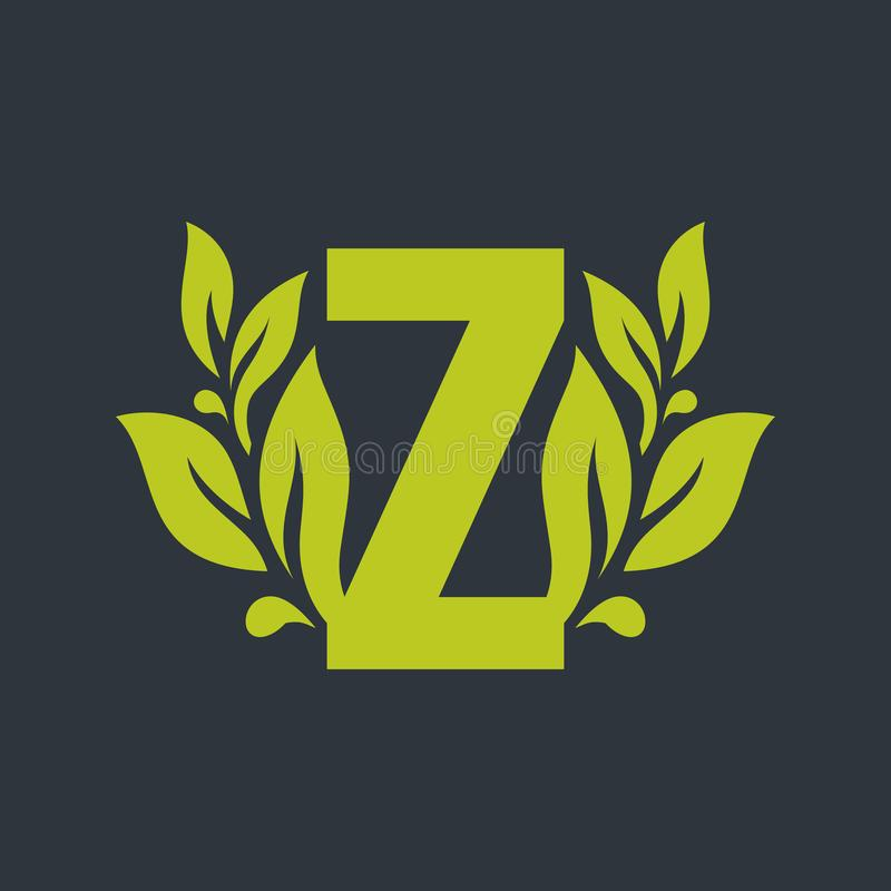 Sign of the letter Z royalty free illustration