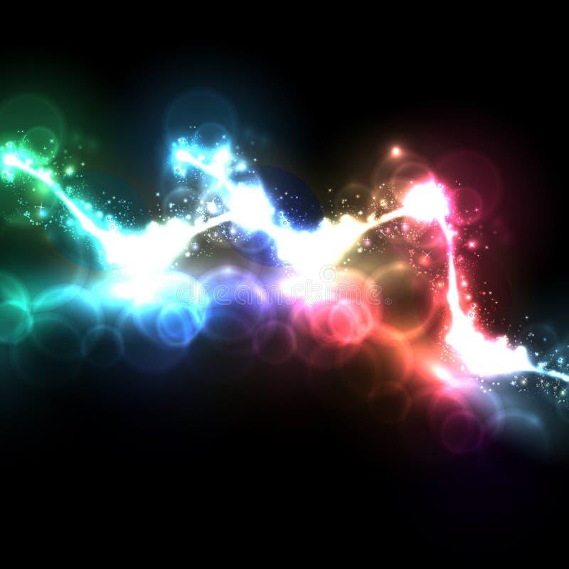 Abstract licht vector illustratie
