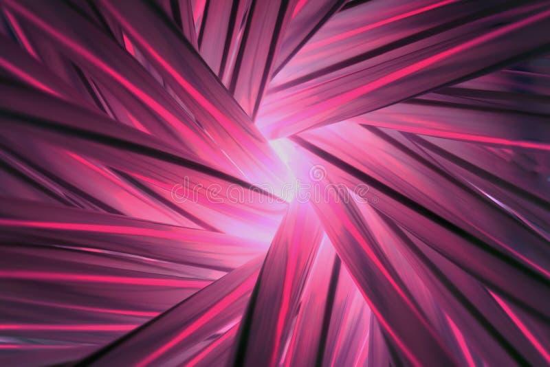 Abstract licht van dark (keer beeld van buis om) royalty-vrije stock afbeelding