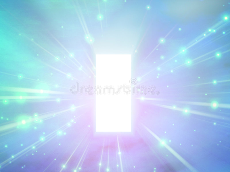 Abstract light stock illustration