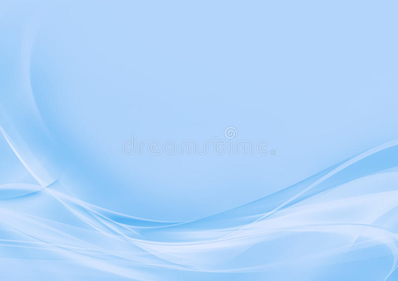 Abstract light blue background stock illustration