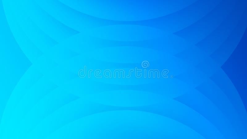 Abstract Light Blue Background With Semi Circle Design vector illustration