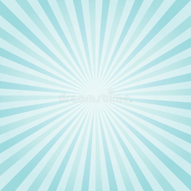 Abstract light Blue Turquoise rays background. Vector vector illustration