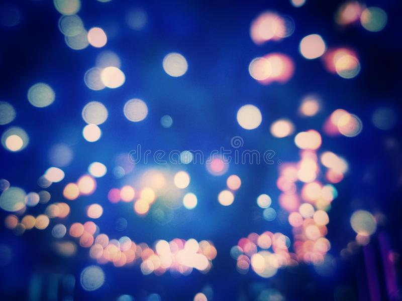 Abstract Light Bokeh Background, Blur textured pattern stock photography