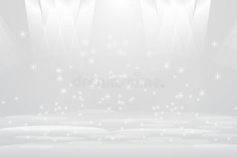 Abstract Light and bright star shines royalty free illustration